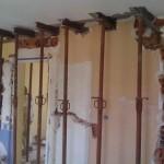 Ouverture mur porteur ou mur de refend par chevalement 2